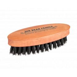 Mr. Bear Family Beard Brush - Travel Size - kartáč na bradu, cestovní velikost
