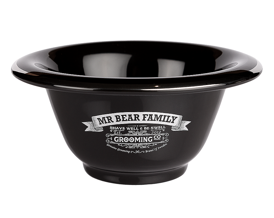 ​Mr. Bear Family Shaving Bowl Porcelain - porcelánová miska na holení