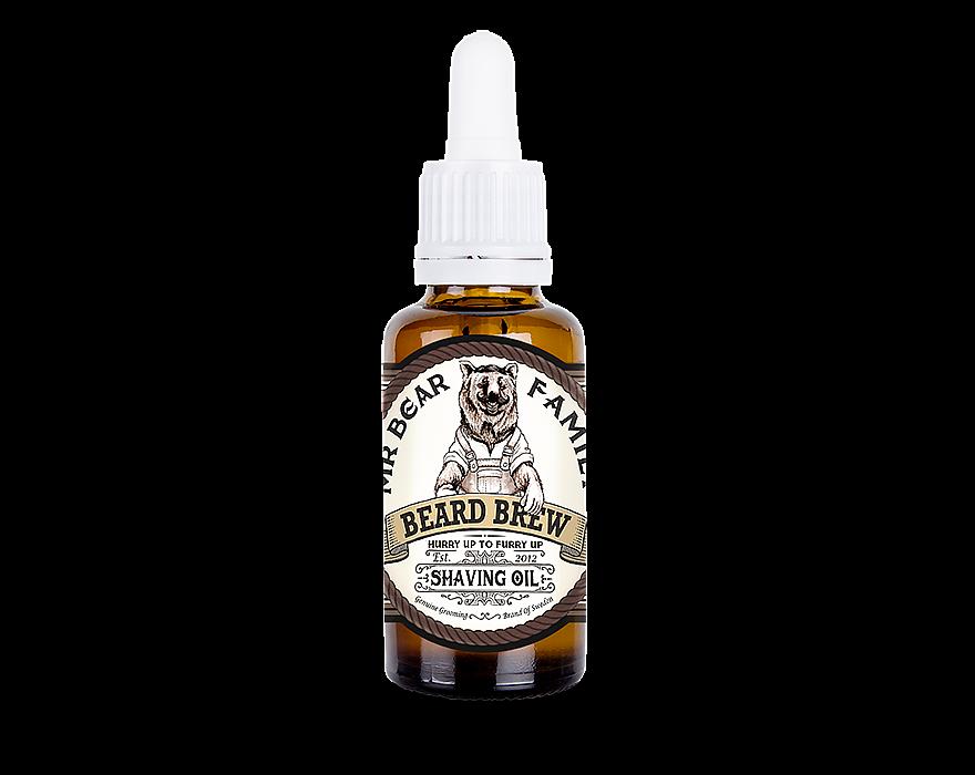 Mr. Bear Family Shaving Oil - olej na holení, 30 ml