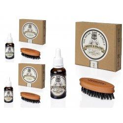 Mr. Bear Family Special Kit Brew and Brush - olej na bradu, 30 ml + kartáček na bradu.