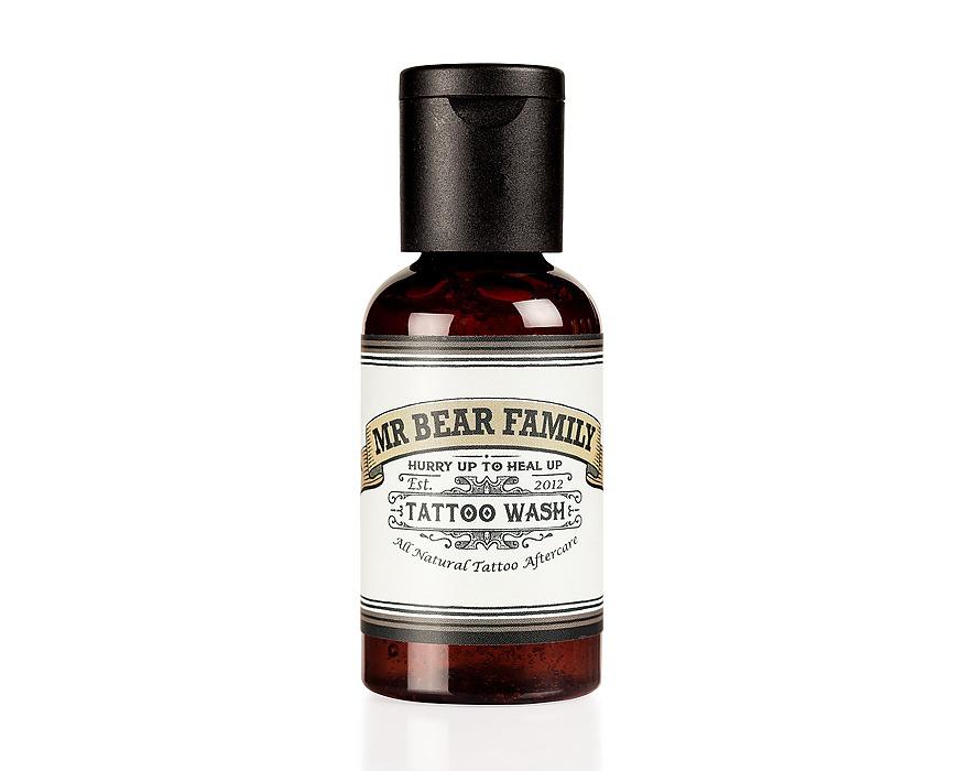 Mr. Bear Family Tattoo Wash - šampón na tetovanie, 50 ml