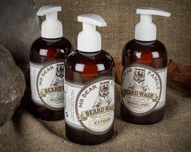 Šampóny, mydlá a kondicionéry na bradu