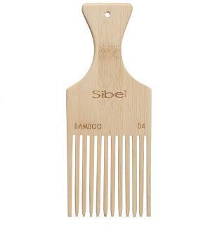 Sibel Bamboo B4 - dřevěný hřeben na vlasy