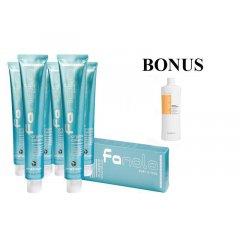 AKCIA: 10 ks Fanola prof. farba na vlasy + šampón Nutri care 1000 ml