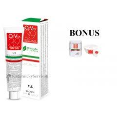 AKCIA: 12 ks OiVita 39 Hair Cream Color - profesionálna hydratačná krémová farba na vlasy, 100 ml + melír, 500 g + miska a štetec