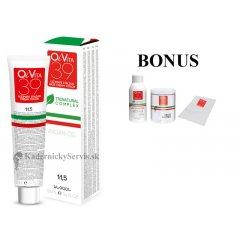 AKCIA: 15 ks OiVita 39 Hair Cream Color - profesionálna hydratačná krémová farba na vlasy, 100 ml + oxidant 6%, 1000 ml + melír, 500 g + jednorázové pláštenky