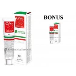 AKCIA: 3 ks + 1 ks OiVita 39 Hair Cream Color - profesionálna hydratačná krémová farba na vlasy, 100 ml