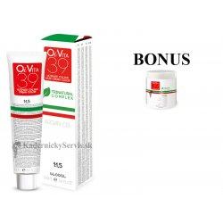 AKCIA: 6 ks OiVita 39 Hair Cream Color - profesionálna hydratačná krémová farba na vlasy, 100 ml + Hydrating maska, 1000 ml