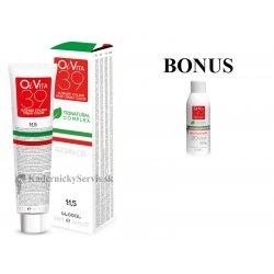 AKCIA: 6 ks OiVita 39 Hair Cream Color - profesionálna hydratačná krémová farba na vlasy, 100 ml + Oxidant 6%, 1000 ml