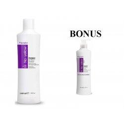 AKCIA: Fanola No yellow shampoo - šampón na šedivé, zosvetlené a odfarbované vlasy, 1000 ml + maska 350 ml