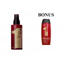 AKCIA: UNIQ ONE Care - regeneračná kúra pre všetky typy vlasov, 150 ml + šampón 2v1 300 ml