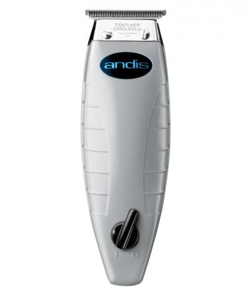 Andis Cordless T-outliner Li 74 005 - profesionální akumulátorový konturovací strojek + Gembird - stlačený vzduch, 400 ml