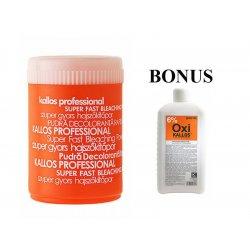 AKCIA: Kallos - melírovací prášek, 500 g + OXI krémový parfémovaný peroxid, 1000 ml