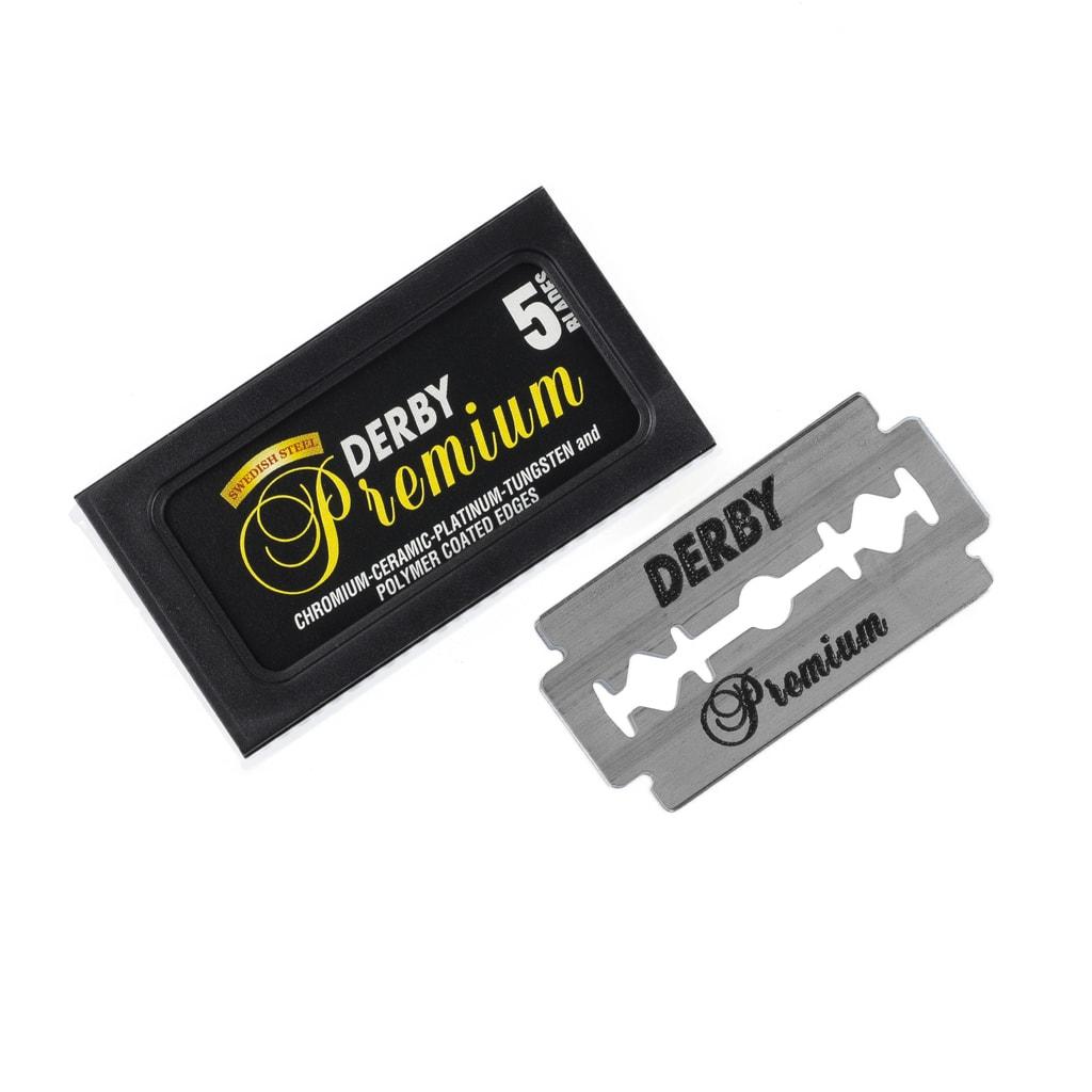 Derby Premium Blades 06161 - náhradní žiletky, 5 ks