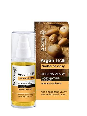 Dr. Santé Argan For Damaged Hair - olej na poškodené vlasy, 50 ml