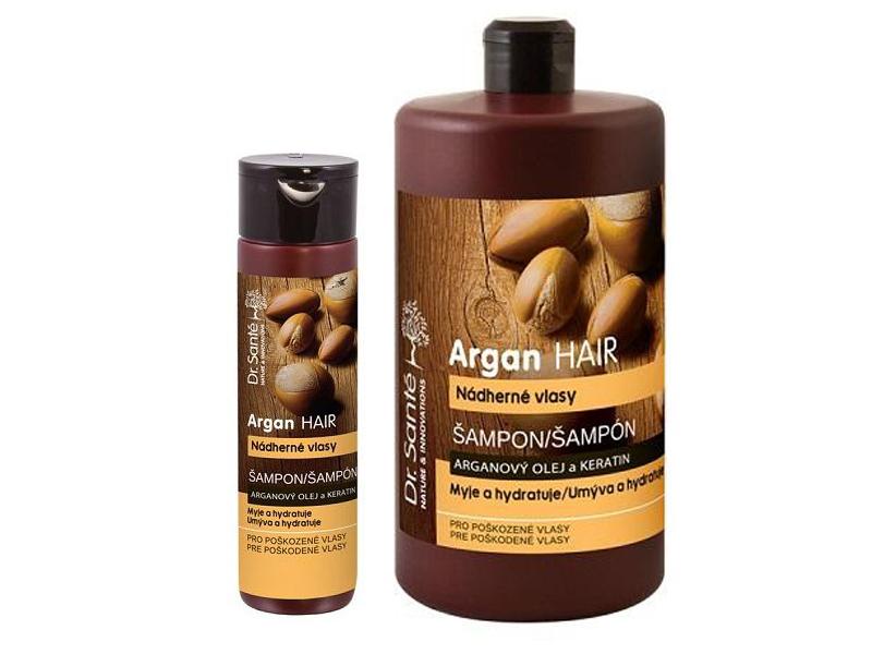 Dr. Santé Argan For Damaged Hair  - šampon na poškodené vlasy