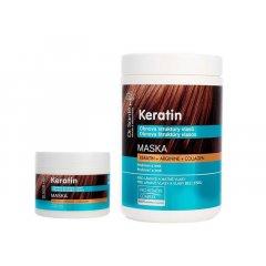 Dr. Santé Keratin Hair Structure Recovery - maska pre vlasy lámavé a bez lesku