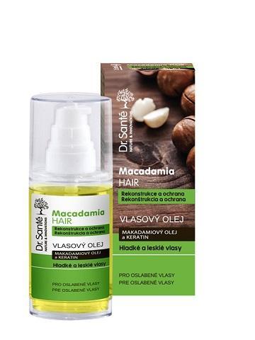Dr. Santé Macadamia Reconstruction and Protection - olej pre oslabené vlasy, 50 ml