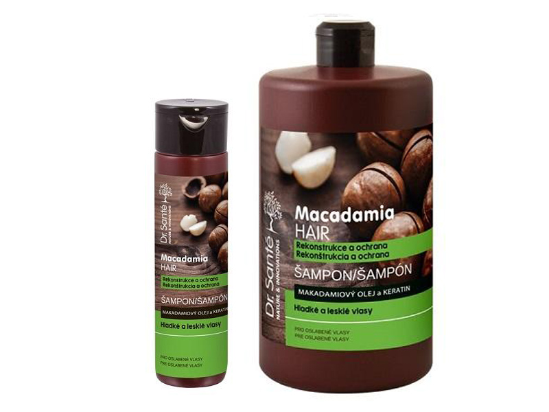 ​Dr. Santé Macadamia Reconstruction and Protection - šampon pro oslabené vlasy