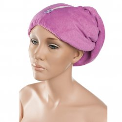 Eurostil Towel Cap Hair Drying 03404 - turban na vlasy, biely