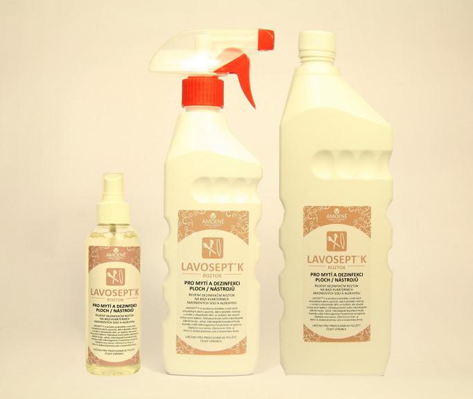 Amoene Lavosept® - dezinfekce na nástroje - roztok