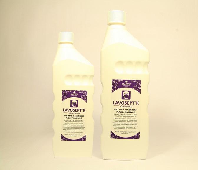Amoene Lavosept® - na dezinfekciu plôch a nástrojov - koncentrát