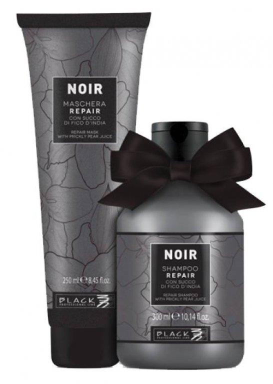 BALÍČEK: Black Noir Repair - sada - šampón, 300 ml + maska, 250 ml