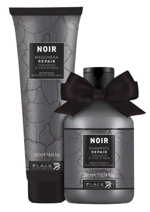BALÍČEK: Black Noir Repair - sada - šampon, 300 ml + maska, 250 ml