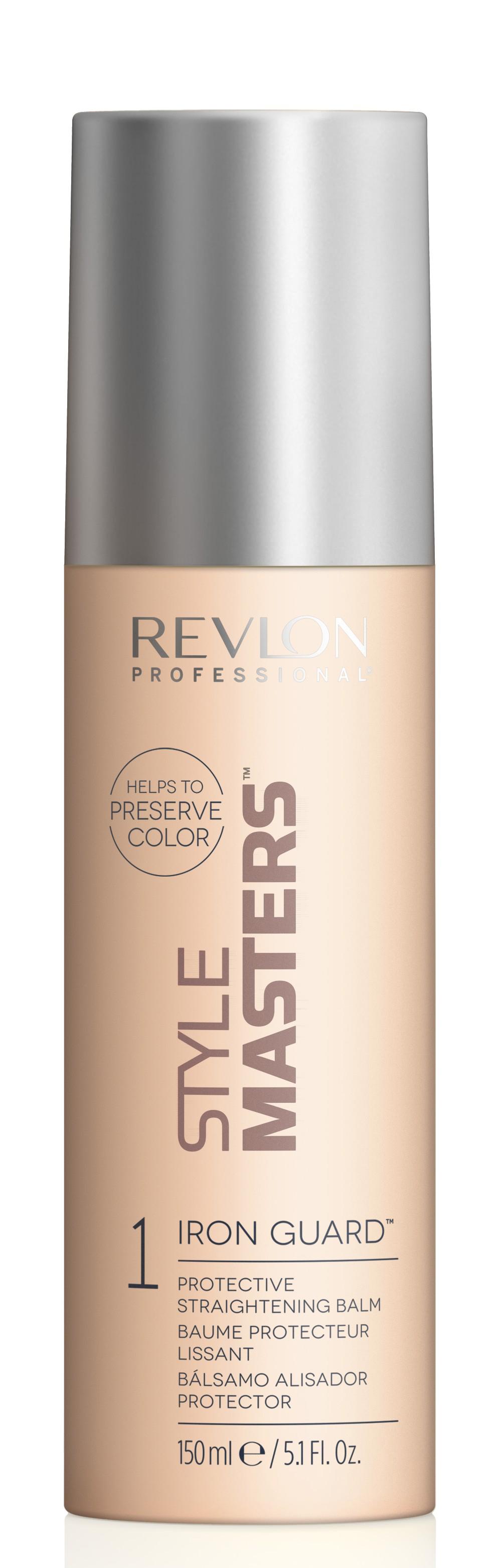 Revlon Style MASTERS Smooth Iron Guard - ochranný balzám na vyrovnanie vlasov, 150 ml