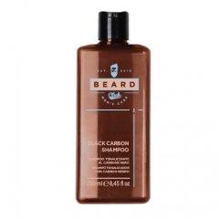 Beard Club Black Carbon Shampoo - šampon na šedivé vlasy s černým uhlím, 250 ml