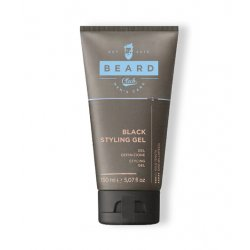 Beard Club Black Styling gel - černý stylingový gel pro dobarvení vlasů, 150 ml