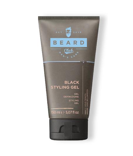 Beard Club Black Styling gel - čierny stylingový gél pre dofarbenie vlasov, 150 ml