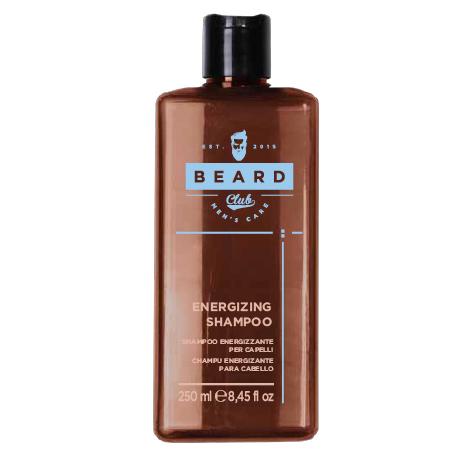 Beard Club Energizing Shampoo - šampón pre pevnosť vlasov, 250 ml
