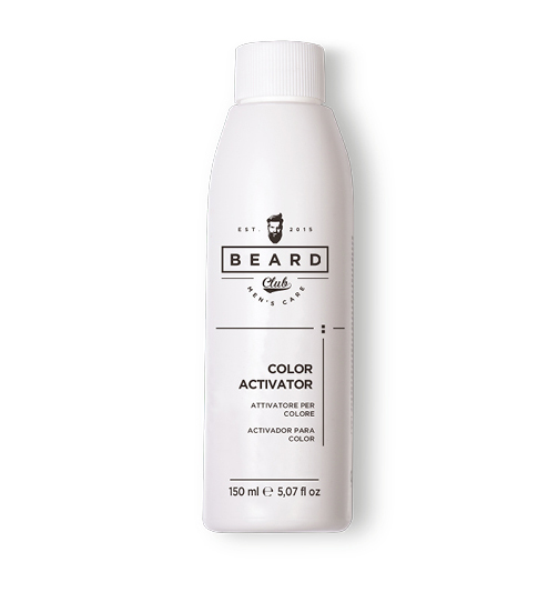 Beard Club Hair Color Activator - aktivátor ke gelovým barvám na vlasy pro muže, 150 ml