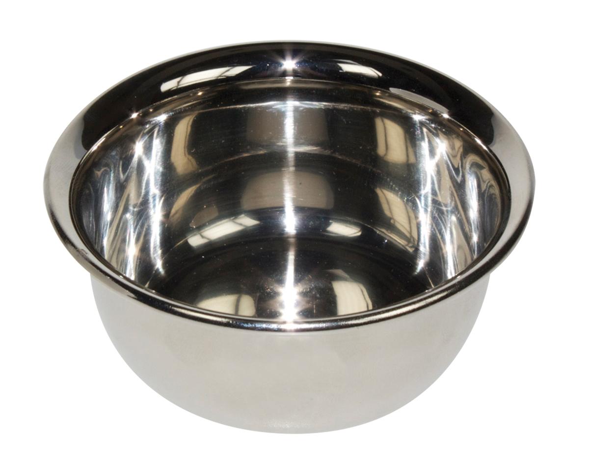 Beard Club Inox Steel Bowl 2530 - miska na holenie, nerezová