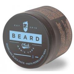 Beard Club Modeling Black Paste - čierna modelovacia pasta pre dofarbenie vlasov, 100 ml