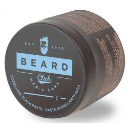 Beard Club Modeling Black Paste - černá modelovací pasta pro dobarvení vlasů, 100 ml
