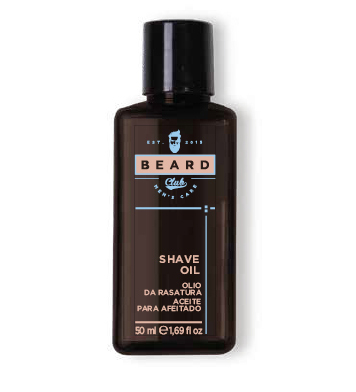 Beard Club Shave oil - olej na holenie, 50 ml