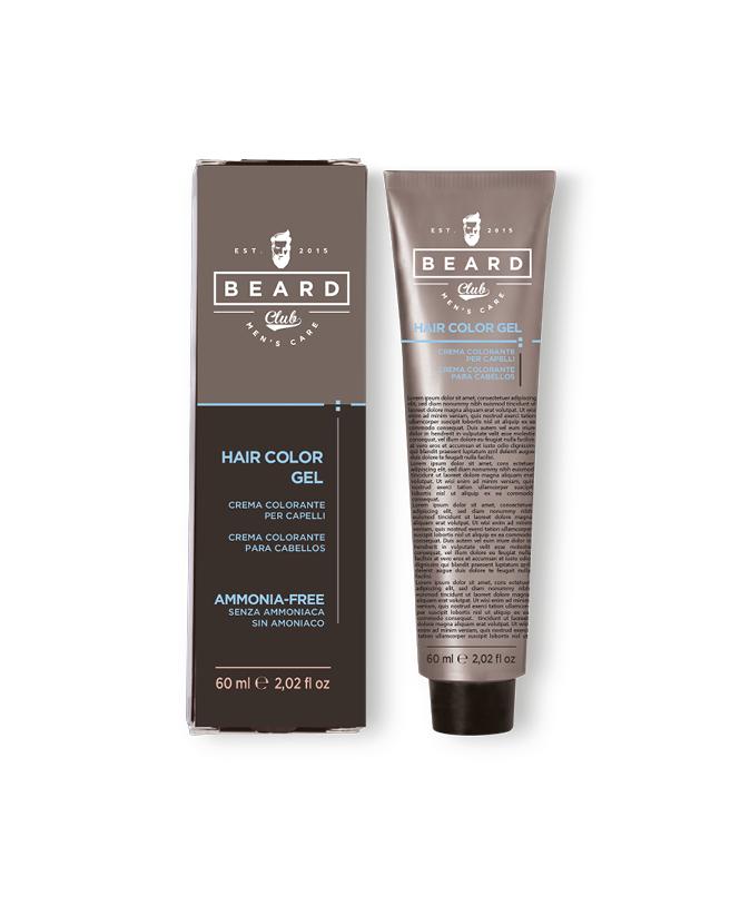 Beard Club Hair Color Gel - gelová barva na vlasy pro muže, 60 ml