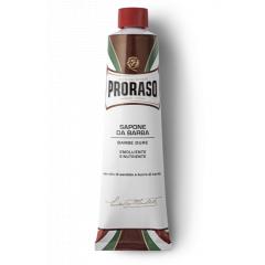 Proraso Shaving Cream tube Nourishing - výživný krém na holenie v tube pre tvrdé fúzy, 150 ml