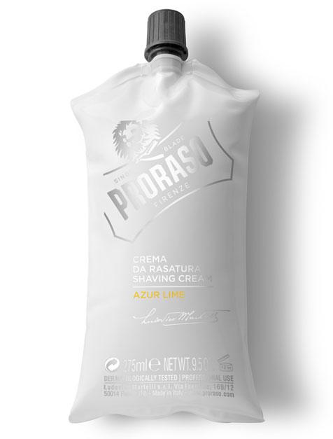 Proraso Shaving Cream Azur Lime - krém na holenie s vôňou limetiek a pomarančov, 275 ml