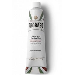 Proraso Shaving Cream tube Sensitive - krém na holení v tubě pro citlivou pokožku, 150 ml