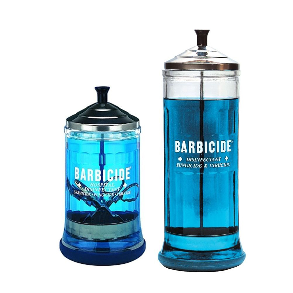 Barbicide - Skleněná nádoba na dezinfekci