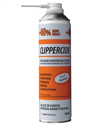 Clippercide - sprej na strojčeky 5v1, 500ml