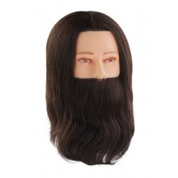Comair Training head Paul 7000838 - mužská cvičná hlava s bradou