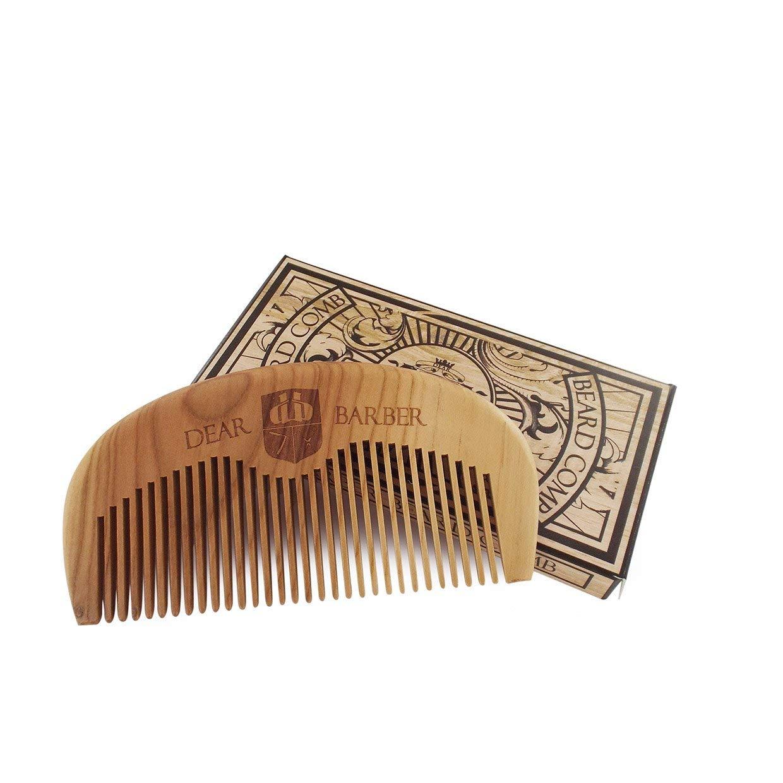 Dear Barber Beard Comb - Dřevěný hřeben na vousy