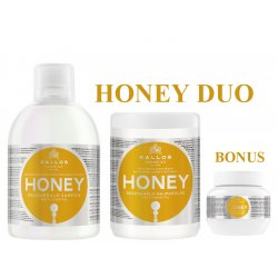 Kallos HONEY DUO - šampon + maska