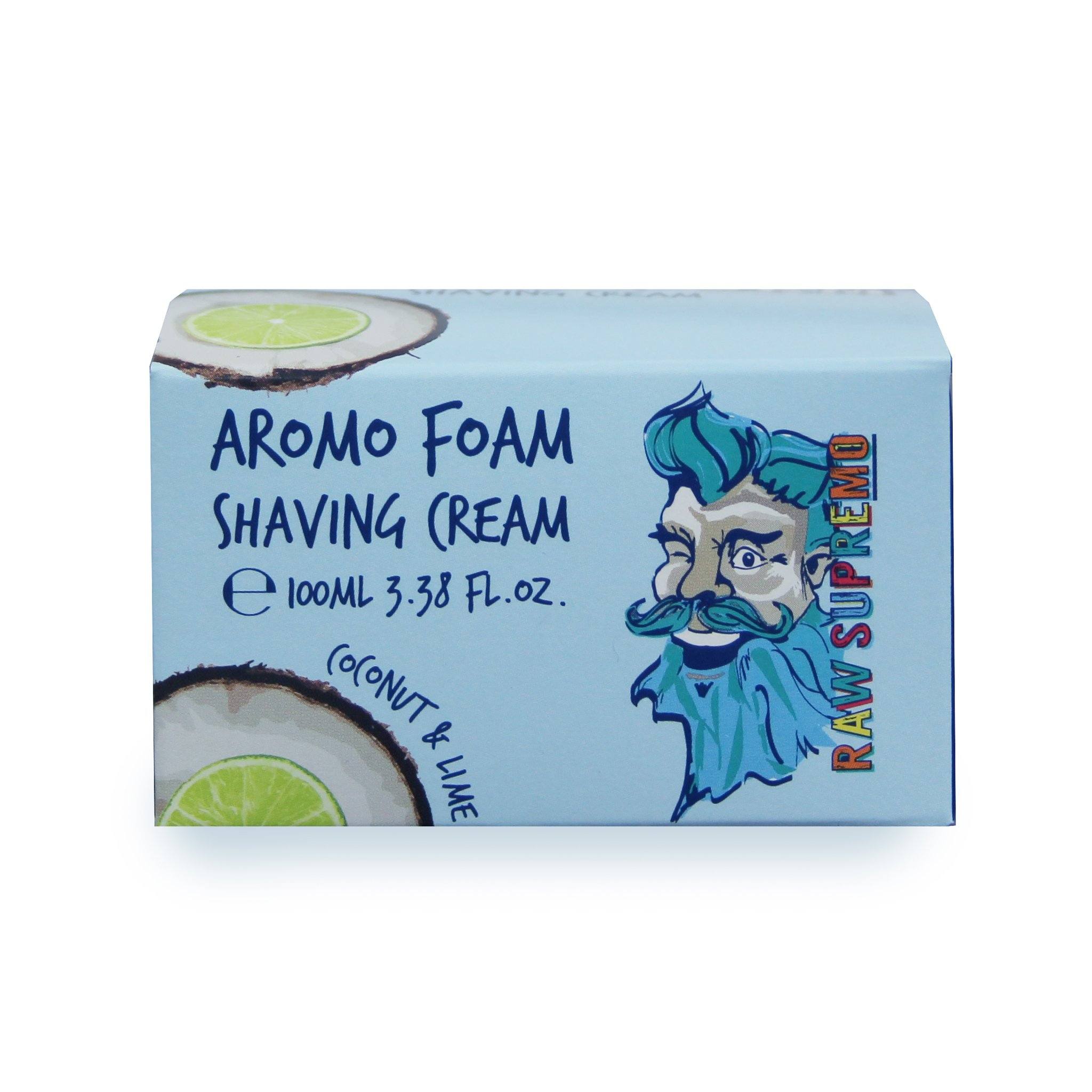 Raw Supremo - Aromo Foam Shaving Cream - Krém na holenie, 100ml