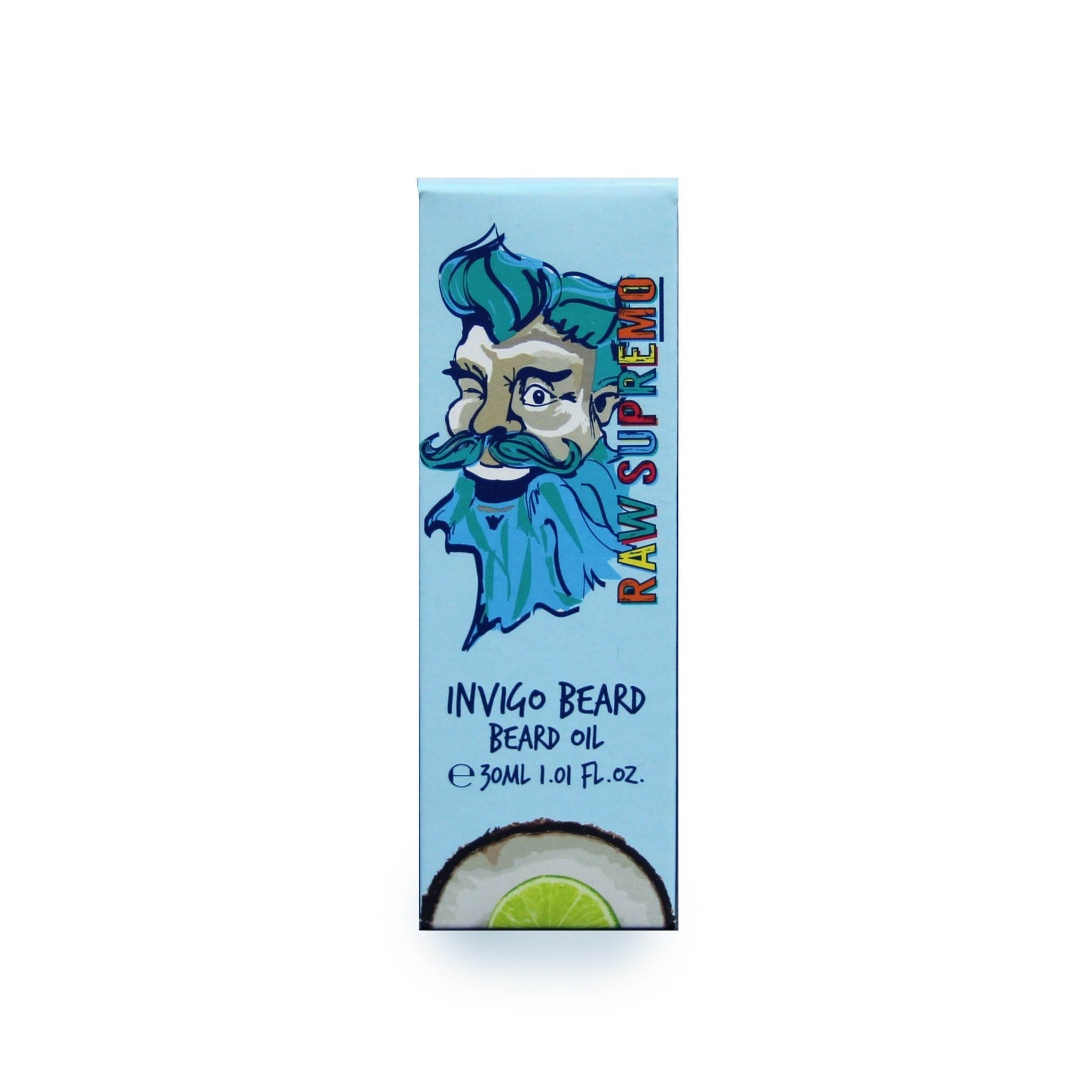 Raw Supremo - Invigo Beard Beard Oil - Olej na bradu, 30ml