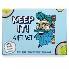 Raw Supremo - Keep It Gift Set - Barber darčeková sada